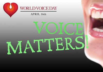 World Voice Day - VoiceMatters.com